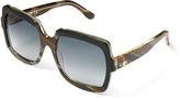 Vivienne Westwood Black Horn Frame Sunglasses VW50104