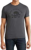 John Varvatos Los Angeles Skull Graphic Tee