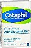 Cetaphil Gentle Cleansing Bar, Antibacterial - Buy Packs and SAVE (Pack of 2)