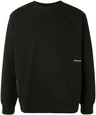 SONGZIO x Disney artwork embroidered sweatshirt