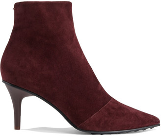 Rag & Bone Leather And Suede Ankle Boots