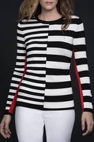 Katherine Barclay Stripe Sweater