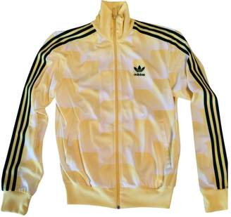 adidas Yellow Polyester Jackets