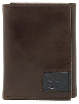 Timberland Cloudy Logo Leather Trifold Wallet