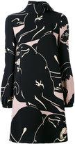 Valentino decorative dress - women - Silk - 42