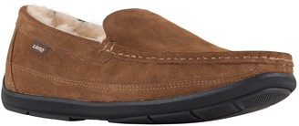 Lamo Men's Suede and Sheepskin Moccasins -Lewis