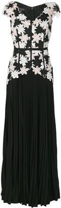 Talbot Runhof Nonee Dress