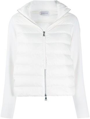 Moncler Knit Sleeve Puffer Jacket