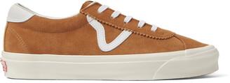 Vans Ua Og Epoch Lx Leather-Trimmed Suede Sneakers