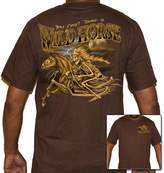 Biker Life Clothing Biker Life USA Cant Tame a Wild Horse T-Shirt