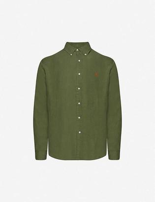 Polo Ralph Lauren Logo-embroidered button-down linen shirt