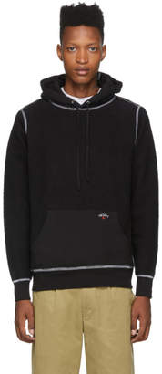 Noah NYC Black Reverse Fleece Hoodie
