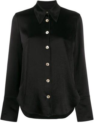 Nanushka wide sleeve blouse