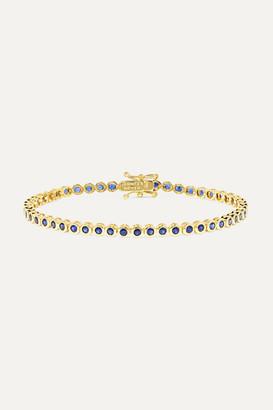 Jennifer Meyer 18-karat Gold Sapphire Bracelet - one size