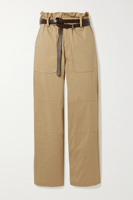 Sea Scott Belted Stretch-cotton Cargo Pants - Camel