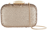 Monsoon Sena Sequin Box Clutch Bag