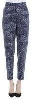 Bottega Veneta Women's Blue Cotton Pants.