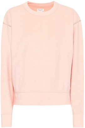 Rag & Bone Cotton-blend terry sweatshirt