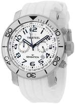 TW Steel Grandeur TW834 Chronograph White Dial 45mm Mens Watch