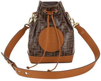 Fendi 1974 Mon Tresor Grande Fabric Bucket Bag