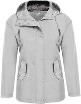 Meaneor Women's Waterproof Lightweight Rain Jacket with Hood XL