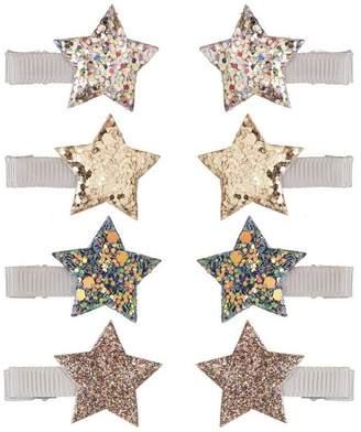Lula Mimi & Starlight Sparkle Metallic Clips Set Of Eight