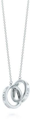 Tiffany & Co. 1837TM Interlocking Circles Pendant in Silver, Small