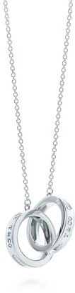 Tiffany & Co. 1837TM interlocking circles pendant in sterling silver, small