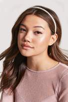 Forever 21 Faux Pearl Headband