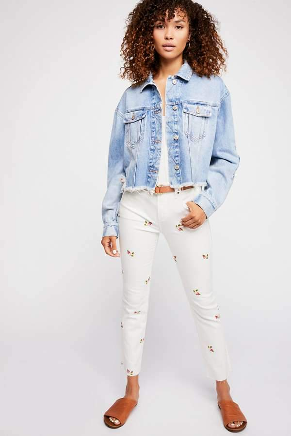 Driftwood Candice Crop Jeans