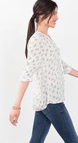 Esprit OUTLET floaty dot print blouse
