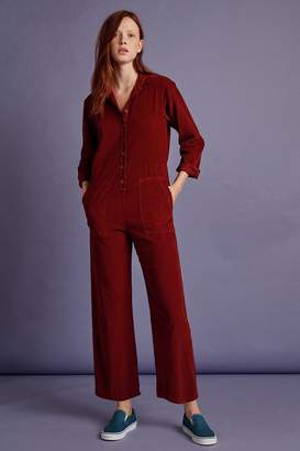 Velvet by Graham & Spencer Velvet By Graham Spencer Delaney Corduroy Long Sleeve Jumpsuit