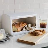 Williams-Sonoma Williams Sonoma Ceramic & Wood Bread Box