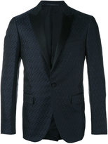Pal Zileri circle pattern tuxedo jacket - men - Silk/Cupro - 46