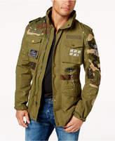 Reason Men's Full-Zip Patch Jacket