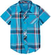 Arizona Short-Sleeve Woven Shirt - Toddler Boys 2t-5t