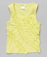 Tutus by Tutu AND Lulu Lemon Ruffle Stripe Tank - Infant