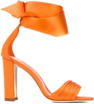 Manolo Blahnik Misami ankle sandals