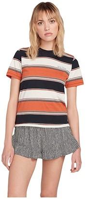 Volcom Chromatic Short Sleeve Crew (Burnt Orange) Women's Clothing