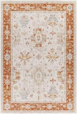 Bungalow Rose Burgettstown Oriental Rust Area Rug Rug Size: Rectangle 10' x 14'