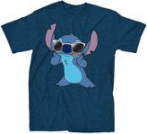 Novelty T-Shirts Short-Sleeve Stitch Famous Tee