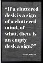 Oliver Gal Cluttered Desk (Framed Print)
