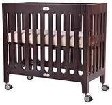Bloom Alma Urban Mini Folding Crib in Cappuccino