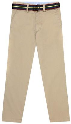 Polo Ralph Lauren Kids Straight stretch-cotton chinos