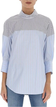 3.1 Phillip Lim Pinstriped Blouse