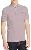 Fred Perry Stripe Jersey Slim Fit Polo Shirt