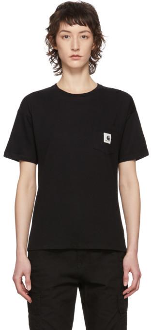 Carhartt Work In Progress Black Carrie T-Shirt