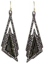 Alexis Bittar Stepped Fancy Pyramid Earrings