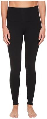 Beyond Yoga High Waisted Midi Leggings (Jet Black) Women's Clothing