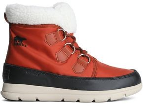 Sorel Carinival Fleece-trimmed Waterproof Shell Snow Boots